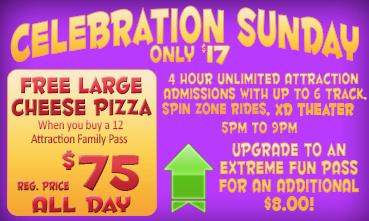 Celebration Sunday, All Day